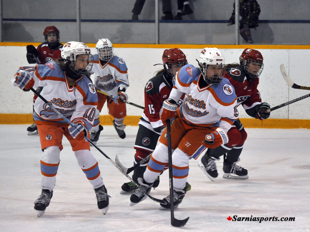 sarnia girls Bantam - plates, napkins & condiments (ketchup, mustart, relish) midgets -  drinks (pop, water, juice in coolers with ice) girls - chips please bring  disposable.